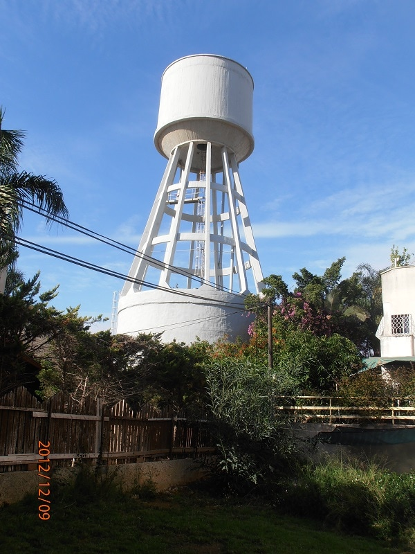 North water tower in Herzelia rehabilitation project applying mci-2020 corrosion inhibitor