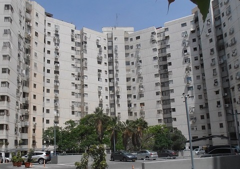 Restoration of Ben-Zvi Street Residential Building complex in Givatayim using MCI-2020 MCI-2006-NS and MCI-Tablets corrosion inhibitors