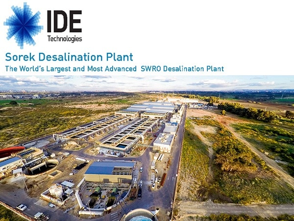 Extending Service Life of Sorek Desalination Plant Using MCI-2005 in brine water tanks and MCI-2020 on exposed concrete